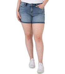 silver jeans co. plus size avery high-rise shorts