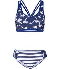 bikini minimizer (set 2 pezzi) (blu) - bpc bonprix collection
