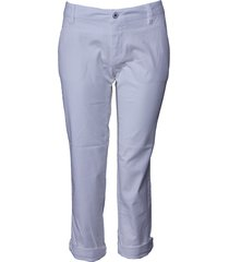 dept broek - low waist - white / wit