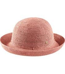 helen kaminski packable raffia hat in peony at nordstrom
