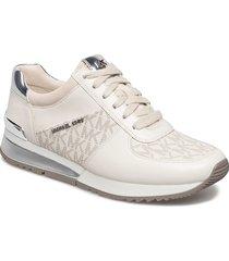 allie wrap trainer låga sneakers vit michael kors shoes