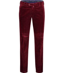 meyer bonn pantalon cord wijnrood flatfront