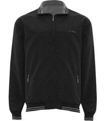 jaqueta dupla face preto