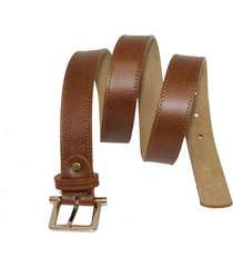cinturon arianna miel femenino elaborado en cuero, 3 cm de ancho venneto-be yourself