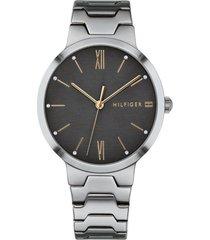 reloj tommy hilfiger 1781958 gris acero inoxidable