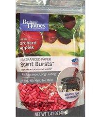better homes & gardens fresh orchard apples scent bursts fragranced paper warmer