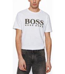 boss men's mixed print t-shirt