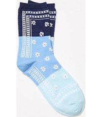 loft bandana crew socks