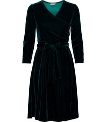 cia kort klänning grön jumperfabriken