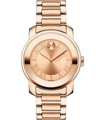 reloj  movado 3600441 rosa acero inoxidable