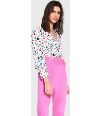 pantalón glamorous rosa - calce regular