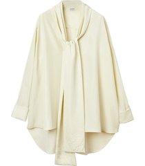 loewe anagram lavaliere blouse