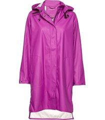 raincoat regenkleding paars ilse jacobsen