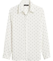 blusa dillon classic blanco banana republic