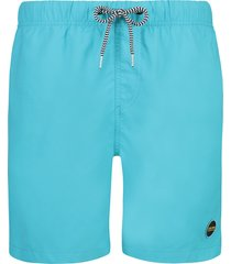 shiwi heren zwembroek solid mike matinique blue turquoise