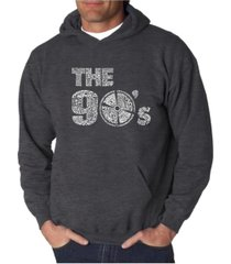 la pop art men's word art hoodie - the 90's