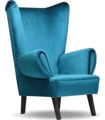 fotel uszak, klubowy, nowoczesny, modern, loft