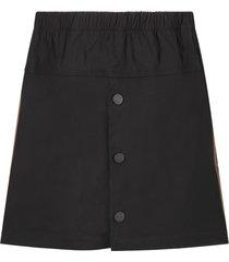 fendi black skirt with double ff for girl