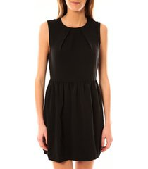 korte jurk vero moda robe noel sl mini dress mix wall 10087646 noir