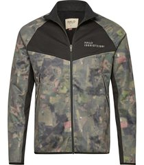 halo camo zip softshell outerwear sport jackets grön halo