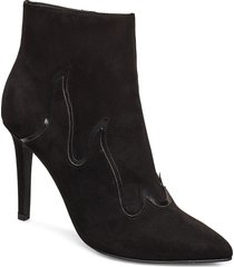 biabernice flame boot shoes boots ankle boots ankle boots with heel svart bianco