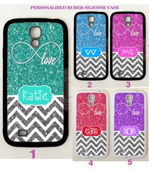 new infinity love silver chevron monogram case for samsung galaxy s8 s7 note 5 4