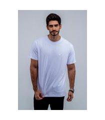 camiseta masculina básica lisa edius branca branco