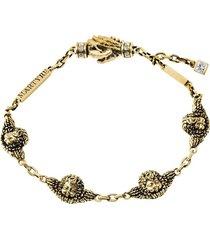 14kt yellow gold cherub angel bracelet
