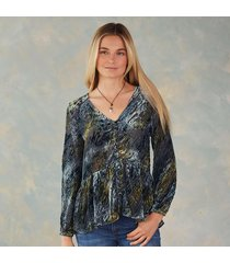 velvet riches blouse