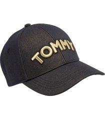 gorra negro tommy hilfiger
