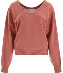 see by chloé wide neck pullover