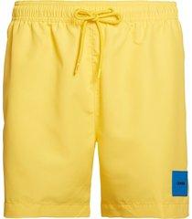 calvin klein heren zwembroek drawstring - licht geel-s