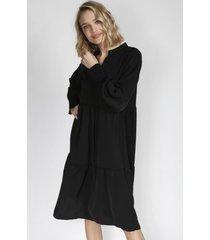 vestido tessa negro eclipse