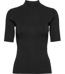 5181 - della t-shirts & tops knitted t-shirts/tops svart sand