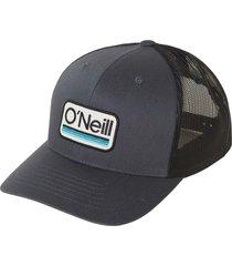 men's o'neill headquarters trucker hat - grey