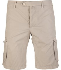 multi-pocket bermuda shorts