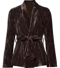 slemiko blazer blazers casual blazers svart soaked in luxury