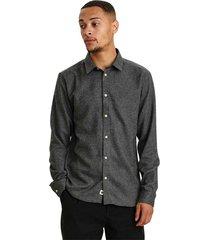 aklouis 2 tone melange shirt 900313