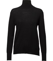 merino roller neck sweater turtleneck coltrui zwart filippa k