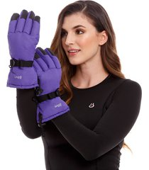 guante thermo tech touch mujer thm morado