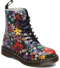 1460 pascal multi wanderlust backhand shoes boots ankle boots ankle boot - flat multi/mönstrad dr. martens