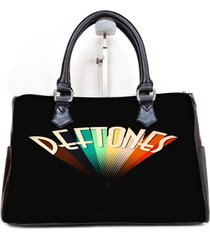 deftones rainbow custom barrel type handbag