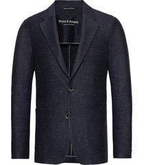 bs piemonte tailored blazer colbert blauw bruun & stengade
