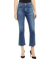 women's citizens of humanity demy high waist crop flare jeans
