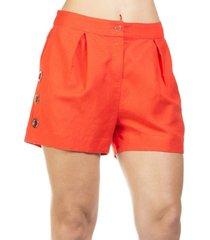 shorts lume detalhe vazado