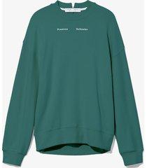 proenza schouler white label ps ny sweatshirt 00513 sage/green l