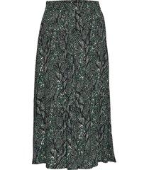 christle skirt knälång kjol grön just female