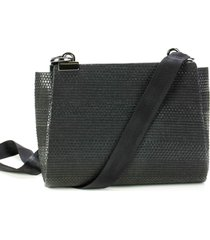 a clutch palha black basic preto