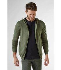 casaco c/ capuz imp tricot class reserva masculino