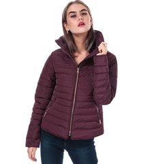 tokyo laundry womens honey funnel neck jacket size 10 in red